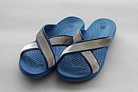 Женские тапочки голубые ПВХ Прогресс, фото 1