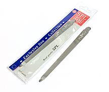 Пилка для ногтей с металлической насечкой SPL9812,16.0см