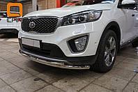 Защита переднего бампера Kia Sorento Prime (2015-) (двойная) d 60/42