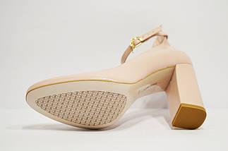 Пудровые туфли кожаные Bravo Moda 1549, фото 3