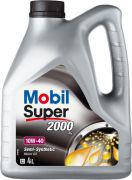 Масло моторное MOBIL Super 2000 10W-40 4 литра