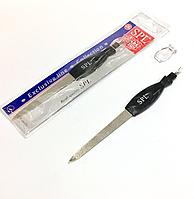 Пилочка для ногтей SPL 9678, 17.5 см с триммером для кутикул  2 в 1