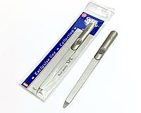 Металлическая Пилочка для ногтей SPL 90166, с лазерным напылением 14 см