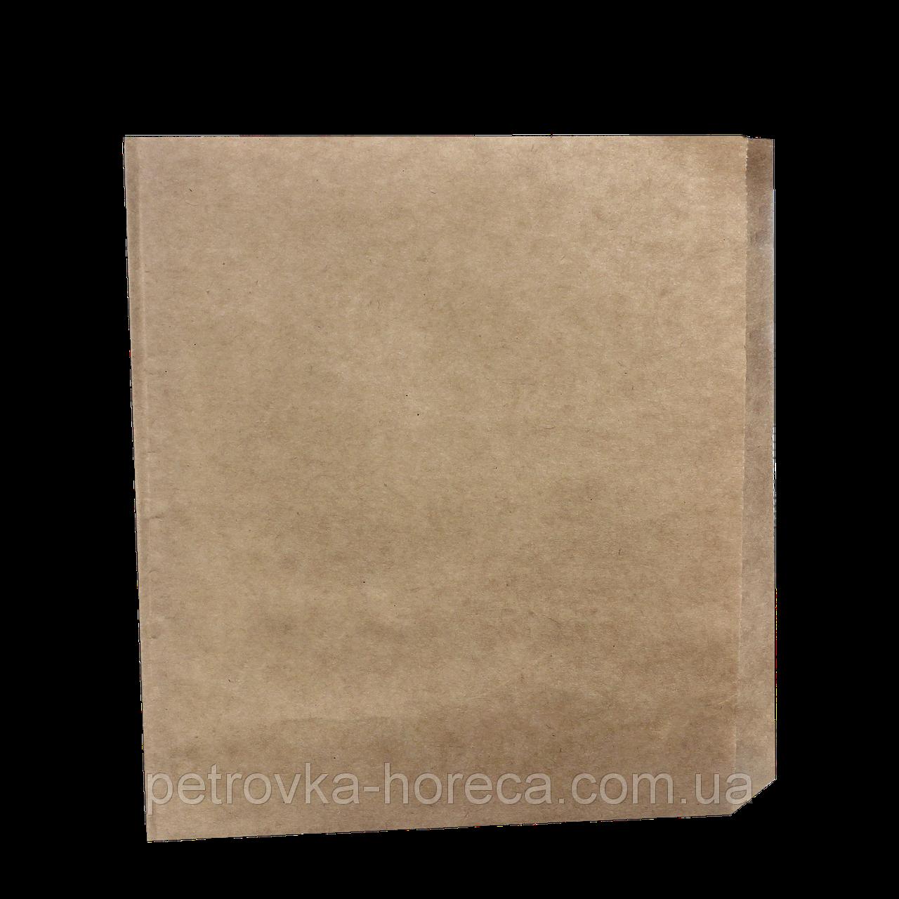 Куток паперовий 160*170мм. 500шт Бурий (932/43)