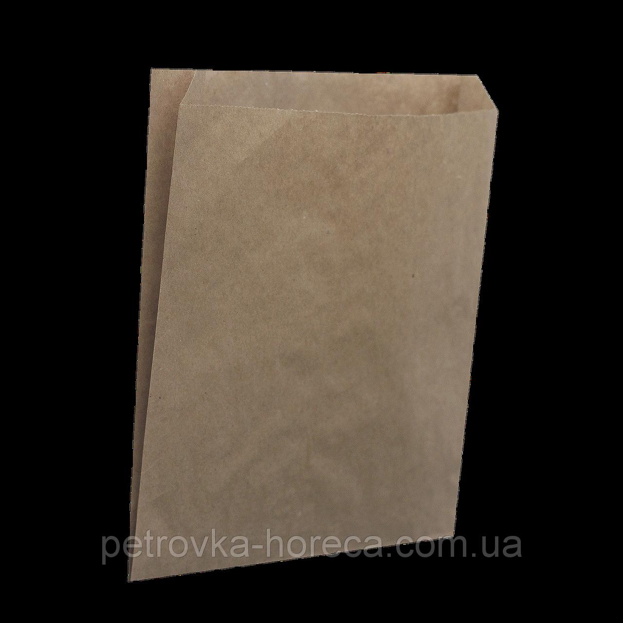 Пакет паперовий  220*140*50 100шт  Крафт (602)