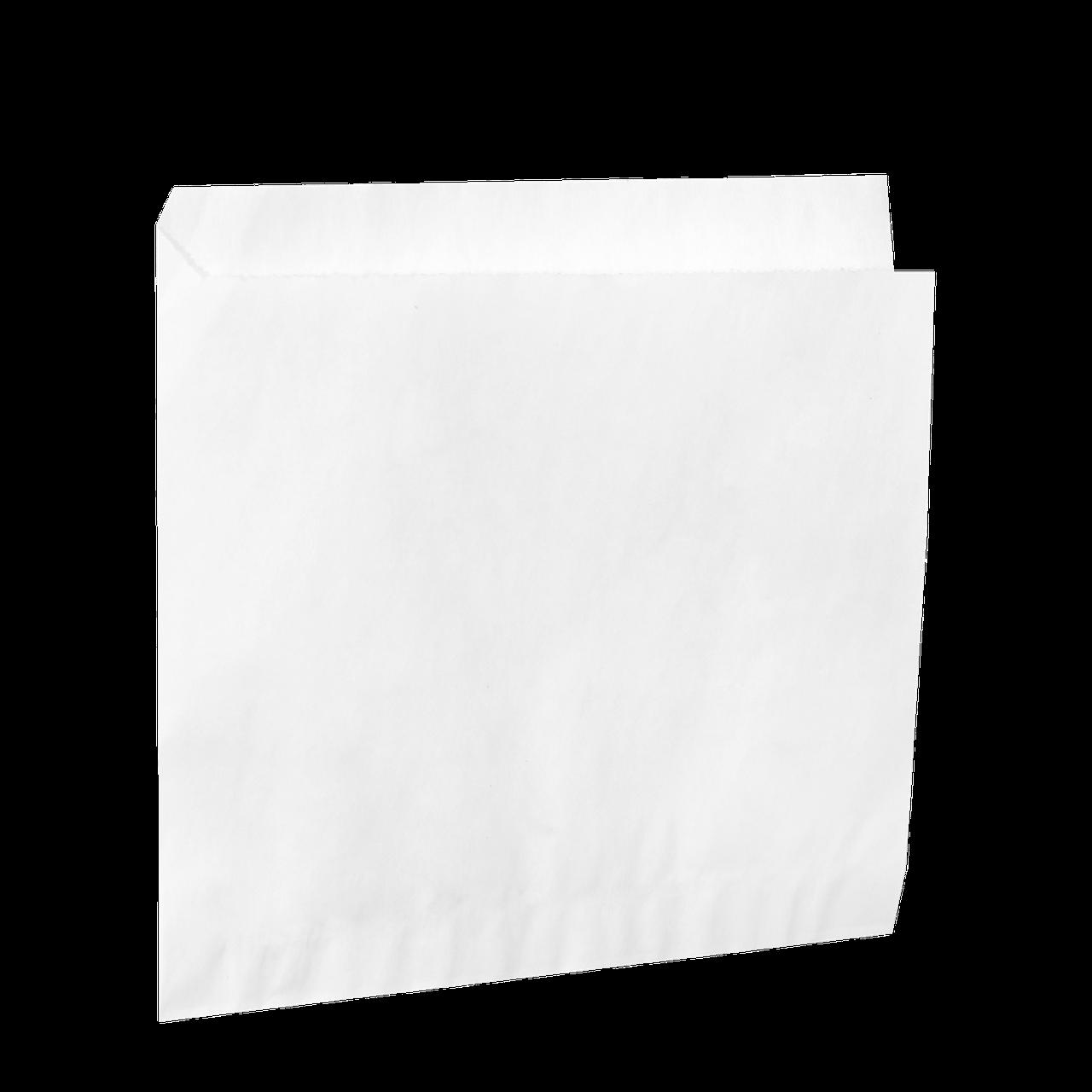 Куток з білого паперу 200*200мм 500шт (31)