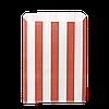"""Пакет паперовий """" Червони смужки""""  170*120*50  100шт (251), фото 2"""