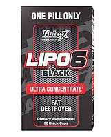 Nutrex Lipo-6 Black Ultra Concentrate 60 black-caps