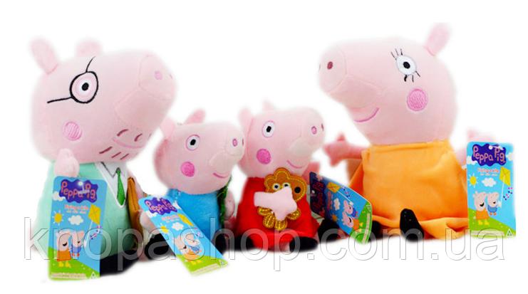 Семья Пеппа , Джордж, мама свинка, папа свин.