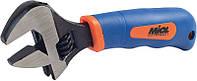 Ключ разводной обрезиненная рукоятка 0-20 мм Miol 54-030