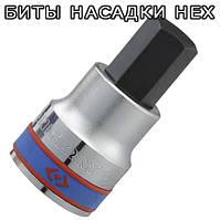 Биты, насадки HEX