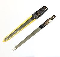 """Пилочка для ногтей SPL 9811, """"фигаро"""" с металлической насечкой 16 см"""
