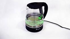 Электрочайник Domotec MS-8210 чайник стекло с RGB подсветкой