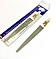 Пилочка для ногтей SPL 9830, с металлической насечкой 17,3 см