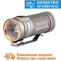 Фонарь Olight S Mini Baton XM-L2 - Stainless Steel GunBlack, фото 1