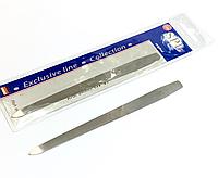 Пилочка для ногтей SPL 9813, с металлической насечкой 16 см