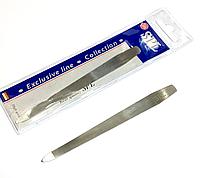 Пилочка для ногтей SPL 9806, с металлической насечкой 13 см