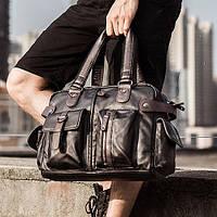 Мужская кожаная сумка. Модель 63286