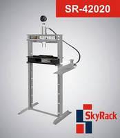 Пресс гаражный гидравлический напольный SkyRack SR-42020. Стоимость с доставкой.
