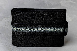 Кошельки и портмоне из кожи ската