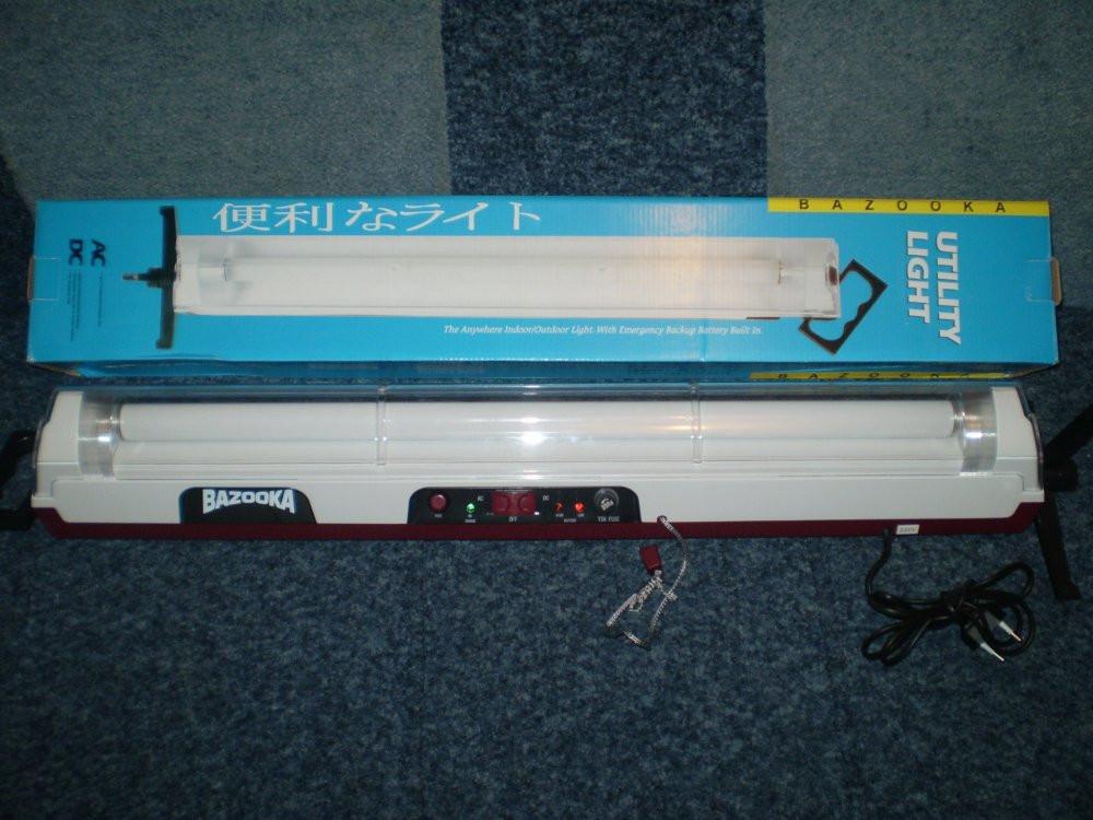 Светильник Bazooka -аварийного освещения. АКБ-6V