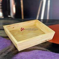 Ящик-бокс деревянный, 200*150*40 мм, ольха