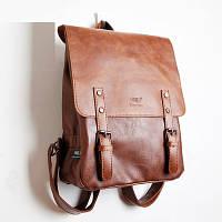 Мужской кожаный рюкзак. Модель с8, фото 1