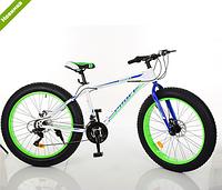 Спортивный велосипед Profi EB26POWER 1.0 S26.3 бело-зеленый