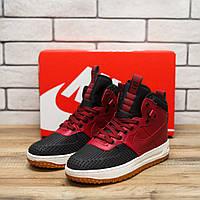 Подростковые красные кроссовки Nike LF1 натуральная кожа весна 2018, 37 38 39 40