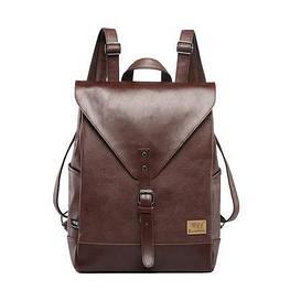 Мужской кожаный рюкзак. Мужской портфель. Модель с16