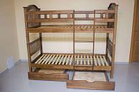 Двухъярусная кровать Максим (с ящиками) 900*2000