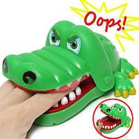Дети ребенок крокодил Рот стоматолог укус аллигатора зуб игрушка Хэллоуин захватывающая игра палец семья