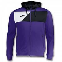 Олимпийка с капюшоном Joma CREW II фиолетовая 100615.551