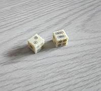 Кубики из кости ручной работы, фото 1