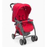 Прогулочная коляска Simplicity Plus Top, красная, Chicco (79482.70)