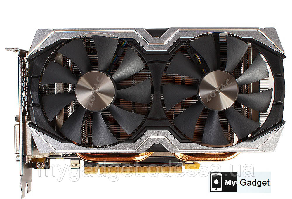Видеокарта Zotac GeForce GTX 1060 AMP Edition 6GB GDDR5 (192bit) (1556/8000)