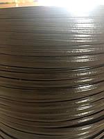 """Штучний ротанг для виготовлення садових меблів АУРА  """"під дерево"""" 10 мм темно-коричневий бухта 5 кг"""