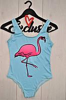 Фламинго эксклюзивный купальник-боди , слитные купальники.