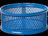 Подставка для скрепок BUROMAX металлическая синяя