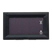 Постоянного тока 4.5-30В 0-100А двойной LED цифровой амперметр вольтметр счетчик, фото 2