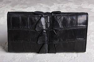Кошельки и портмоне из кожи крокодила