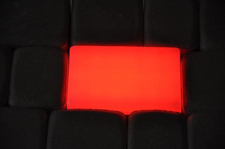 Светильник тротуарный RGB 9х12х6