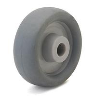 Колесо полипропилен/термопластичная резина, диаметр 50 мм, нагрузка 40кг, под ось 6 мм