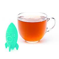 Ситечко для заваривания чая Fissman РАКЕТА (Силикон), фото 1