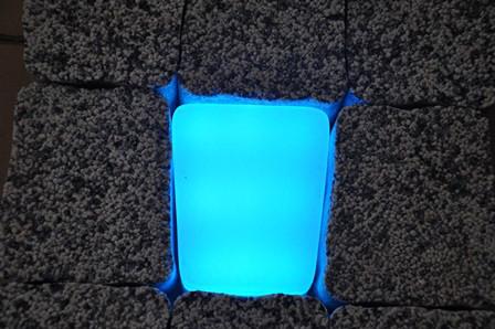 Светильник тротуарный RGB 12х5х11.1х6