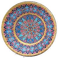 """Декоративная тарелка диаметром 42 см """"Сердце Ангела"""" шамотной трипольской глины станет изысканным"""