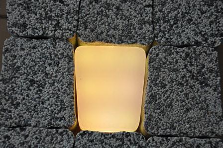 Светильник тротуарный RGB 10.5х8х11.1х6