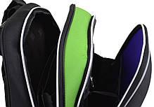 Рюкзак каркасный  YES 554613 H-12 Black, 38*29*15, фото 3