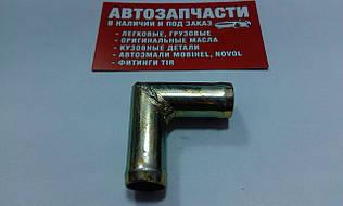 Соединитель шланга угловой Д=16 металлический