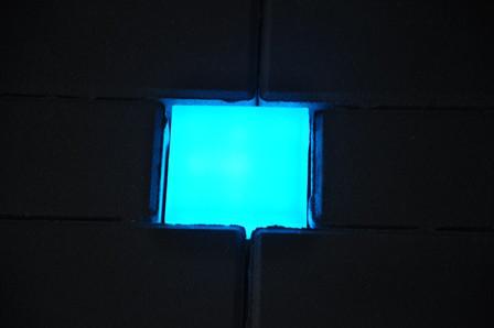 Светильник тротуарный RGB 10х10х6